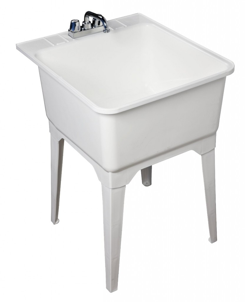 Presenza Utility Sink : ... Utility Sink And Storage. on laundry utility tubs at home depot
