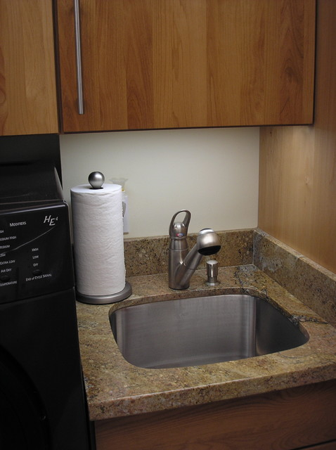 counter-top laundry sink in Boise