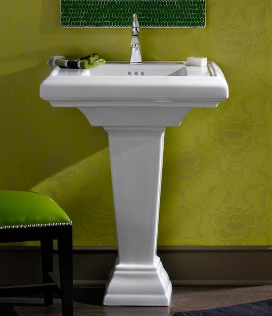 Pedestal Sink Remodel