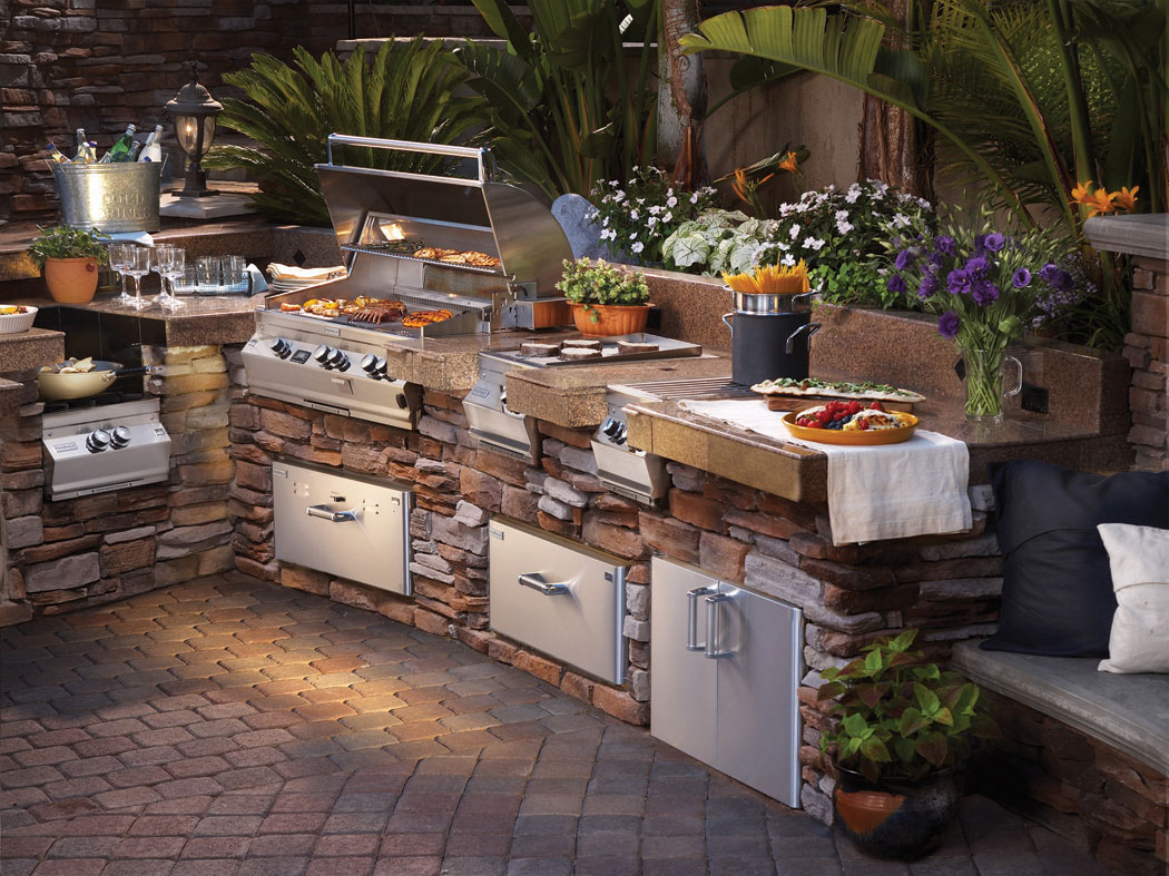 Drake Mechanical | Outdoor Kitchens in Boise Nampa Caldwell and