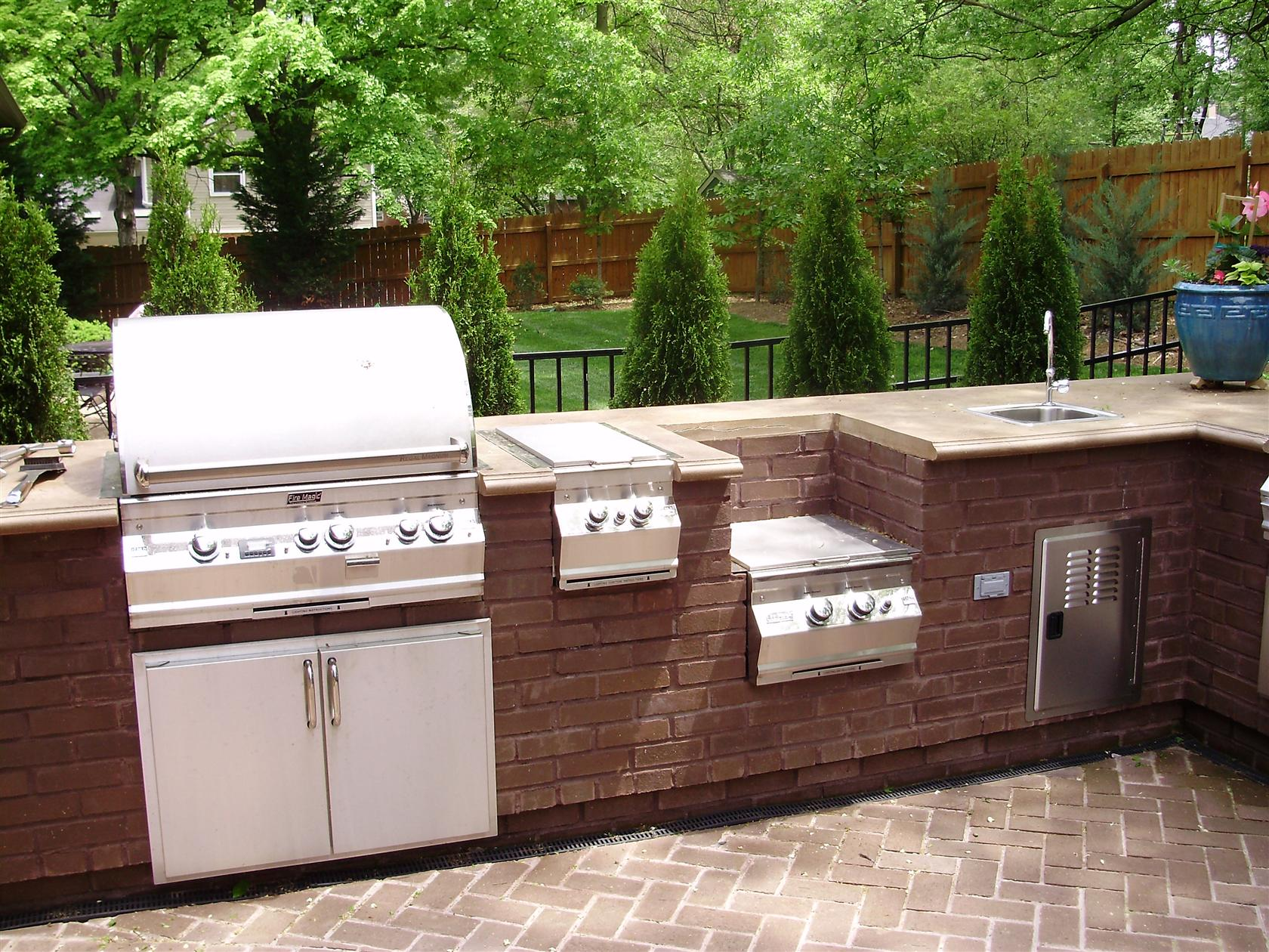 Backyard Kitchen And Tap Menu : Related Post with outdoor kitchens houston league city the woodlands