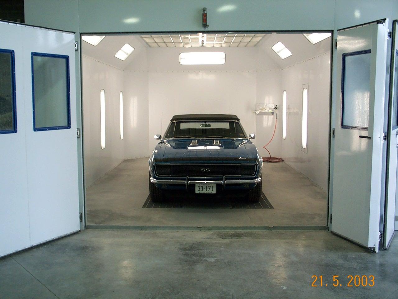 Best Automotive Paint Booths