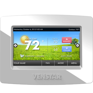 Venstar Color Touch Thermostats in Boise Nampa Caldwell and surrounding areas