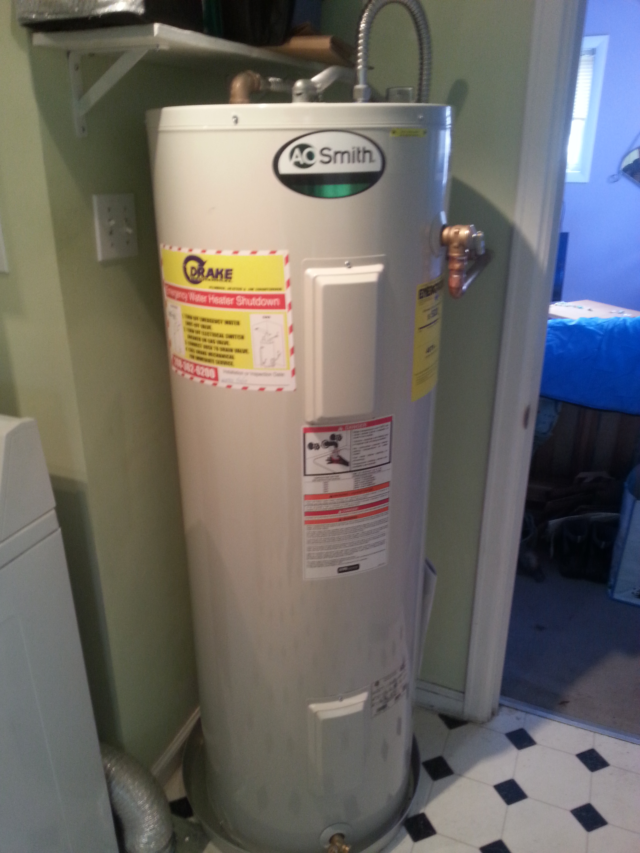 Drake Mechanical Electric Water Heaters